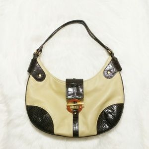 Ralph Lauren Saddle Brook Hobo Shoulder Bag